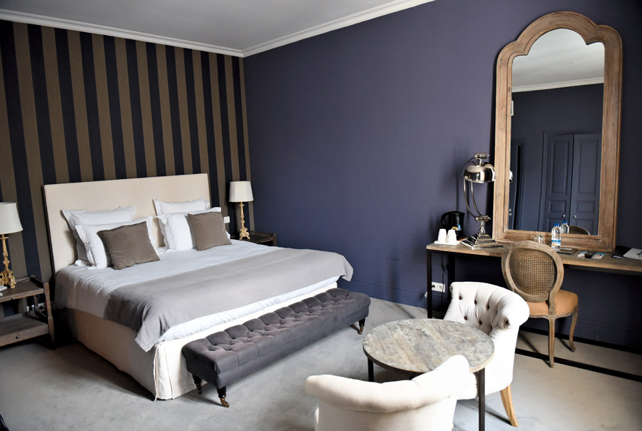 H tel particulier la chamoiserie niort for Chambre d hotel nice